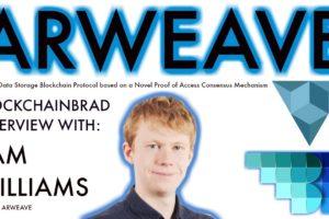Arweave: new Permanent data storage blockchain | BlockchainBrad interview with CEO | Blockweave