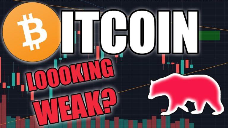 BITCOIN LOOKING WEAK?   BTC Price Update