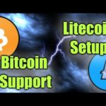 BITCOIN SHOWS STRENGTH & LITECOIN LOOKS AMAZING LONG TERM