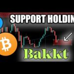 Bakkt BTC Futures LAUNCHING! Bitcoin Showing Support | Litecoin Price Critical Level