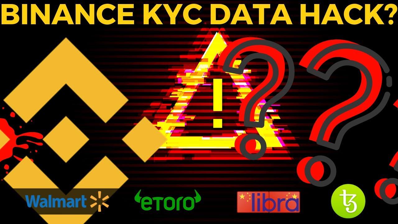 Binance Data HACK | Walmart Coin | Chinese Libra | Bitcoin News
