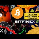 Bitcoin About to Explode!!! ⚠️ BITFINEX Maintenance: Should You Be Worried?!?
