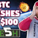 Bitcoin Crashes to $100 | HUGE $IOST NEWS!!! | Bullish Signs Everywhere