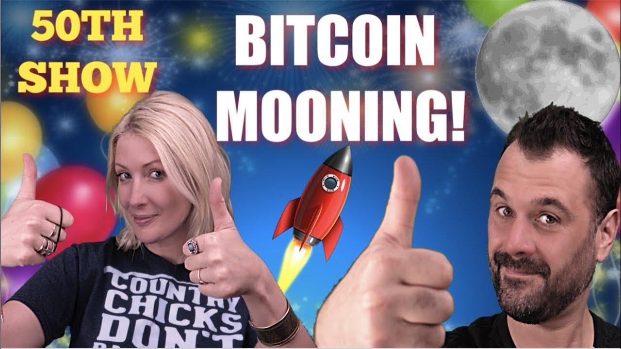 Bitcoin Mooning , Litecoin , EOS , Crypto on FIRE. 50TH SHOW!