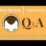 Bitcoin Q&A: Data integrity and validation of keys