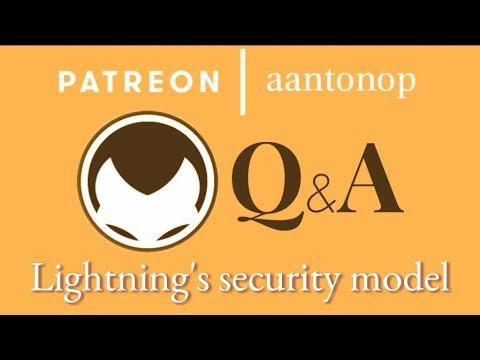 Bitcoin Q&A: Lightning's security model