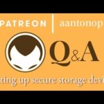 Bitcoin Q&A: Setting up secure storage devices