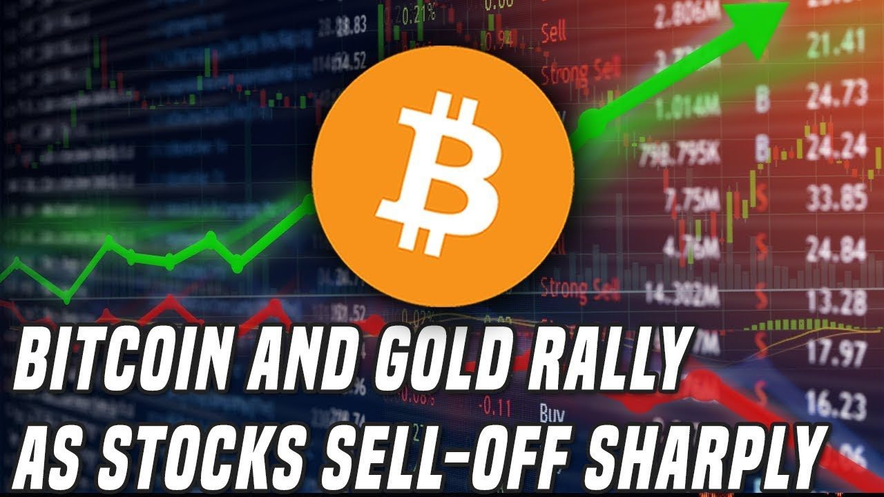 Bitcoin Rallies Back To $10K | Stocks Sell-Off Sharply After Fed Rate Cut