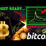 Bitcoin Ready for EXPLOSIVE MOVE!! Are We Being MANIPULATED? Next Move is CRUCIAL!