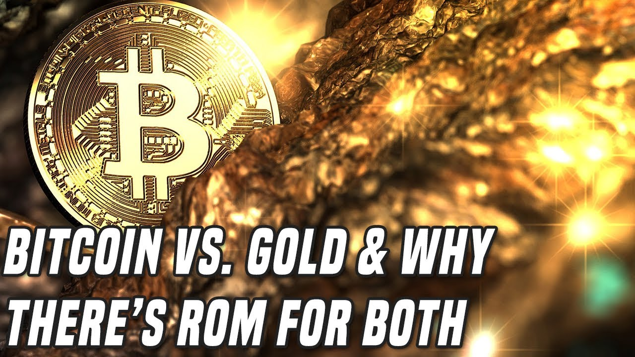 Bitcoin Vs. Gold | Why There's Room For Both