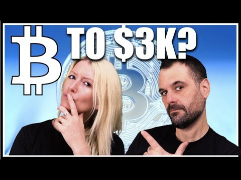 Bitcoin to $3K? Curtains for Crypto? Why's the market tanking? BTC News