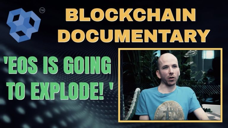 Blockchain Documentary – EOS IS GOING TO EXPLODE!!  Chris Coney explains why EOS is his top pick.