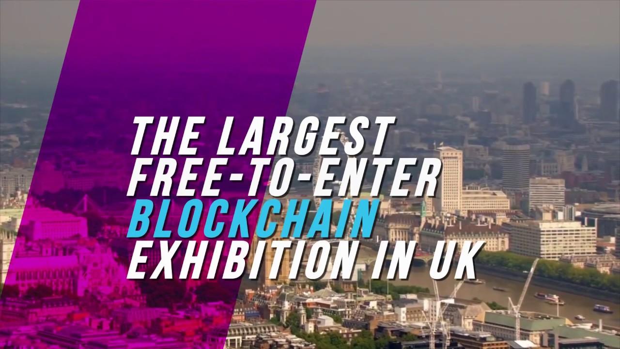 Blockchain International Show London. 50% off ticket prices