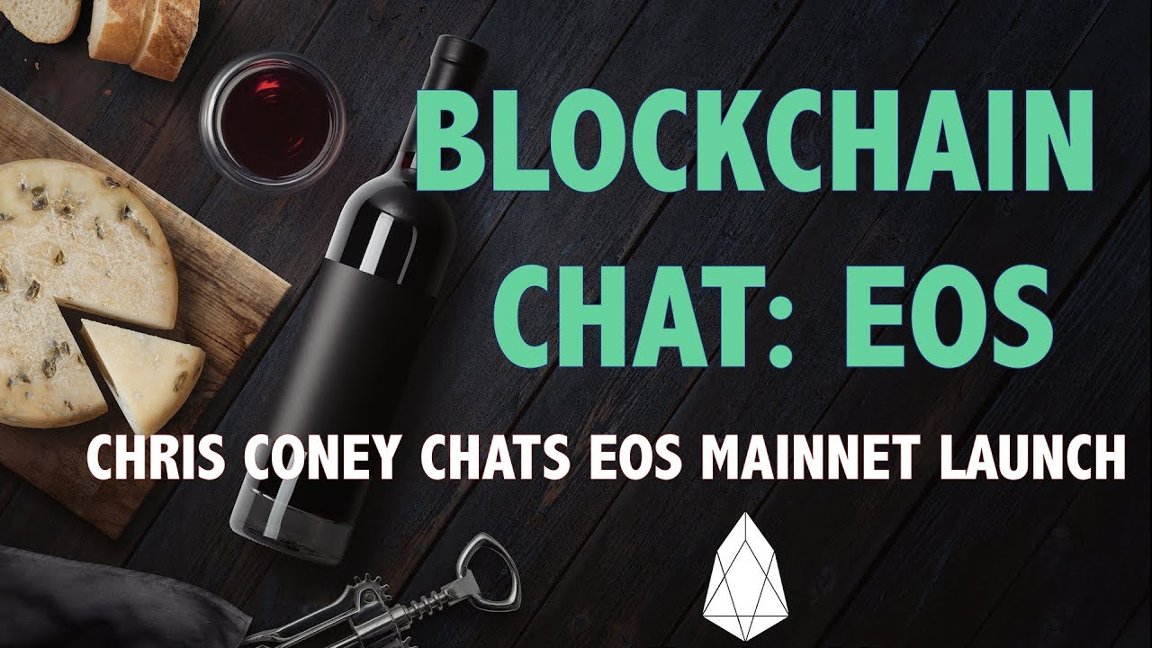 Blockchain News EOS Launch With Chris Coney The Cryptoverse