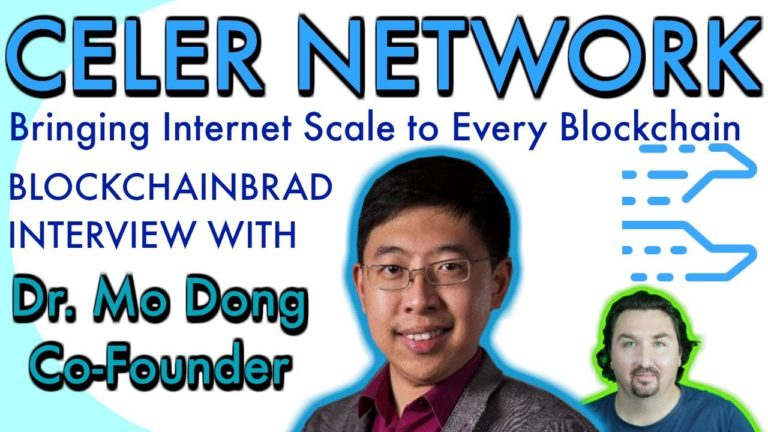 BlockchainBrad interviews CELER Network's Dr. Mo Dong about a NEW offchain scaling architecture