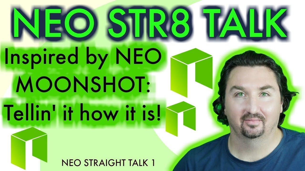 BlockchainBrad straight talks about NEO - No BS -  NEO is REAL BUSINESS - NEO Stra8 talk 1