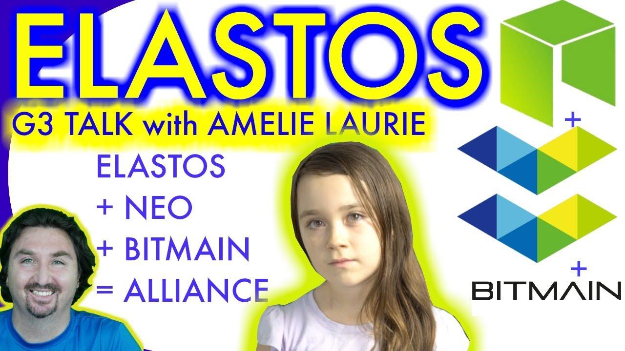 BlockchainBrad's daughter Amelie Talking G3 NEO ELASTOS & BITMAIN