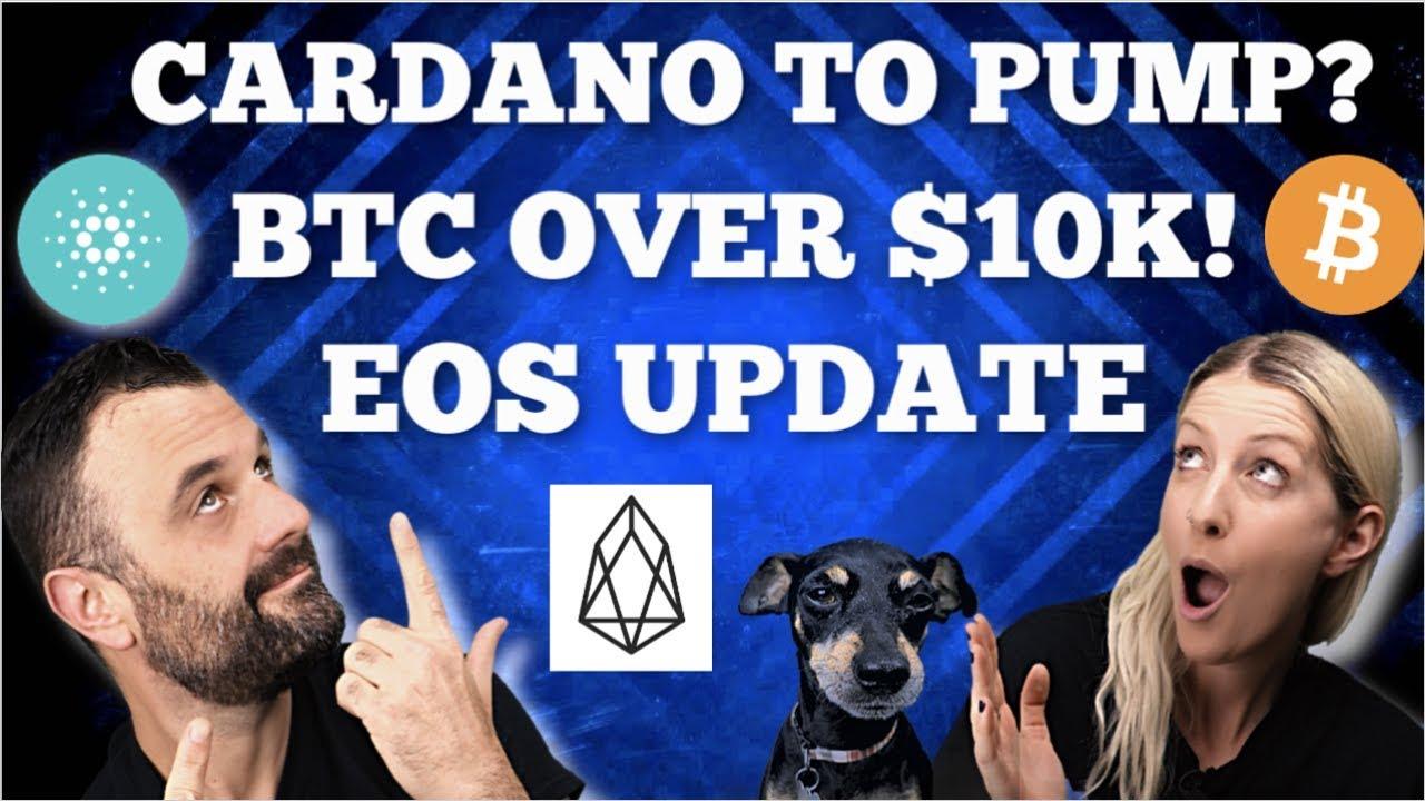 CARDANO TO PUMP ? / BTC OVER $10K / EOS UPDATE / LITECOIN NEWS / PILLAR PROJECT