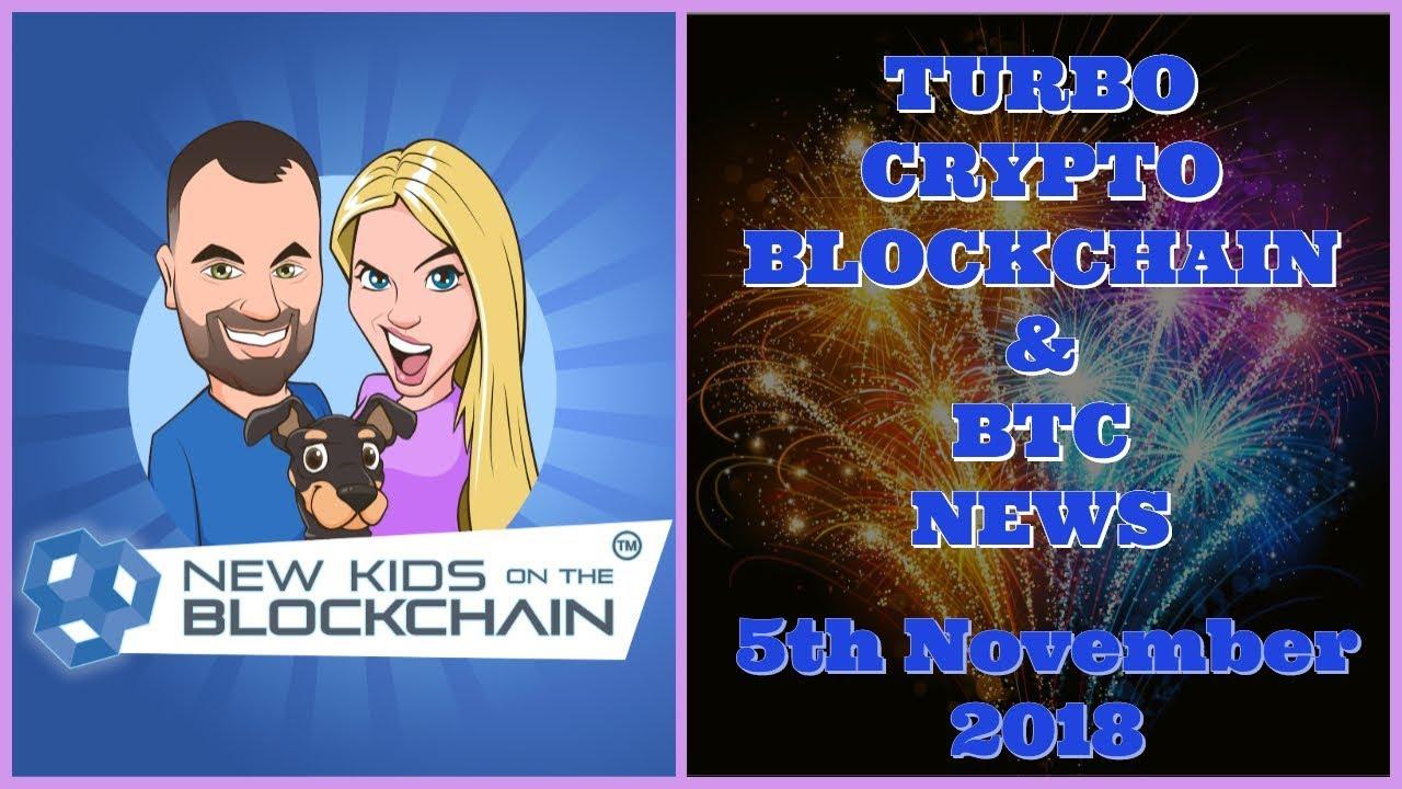 CRYPTO BLOCKCHAIN BTC NEWS 5th NOV. BTC , ETH , EOS , XRP and MORE!