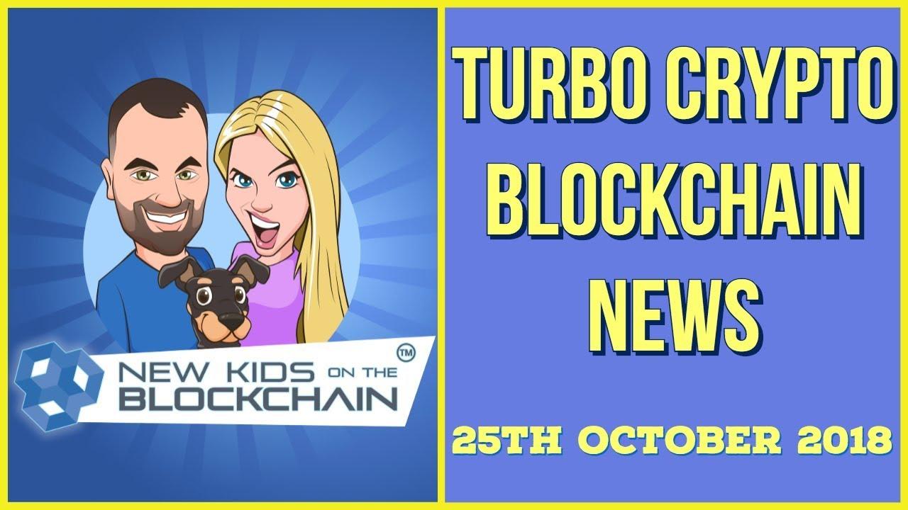 CRYPTO BLOCKCHAIN NEWS 25th OCT. BTC ,  ETH , TETHER, RIPPLE  , EOS , LTC  and MORE!