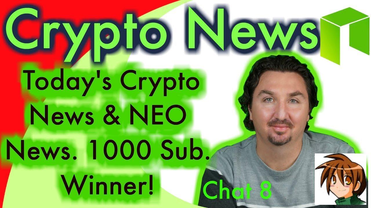 CRYPTO NEWS NEO NEWS 1000 Sub winner! Neo News from China New ICOs