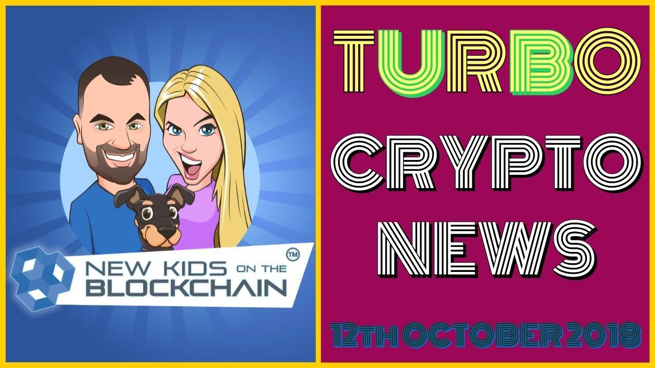 CRYPTO TURBO NEWS 12th Oct BTC, ETH, RIPPLE , EOS, LITECOIN  and MORE!