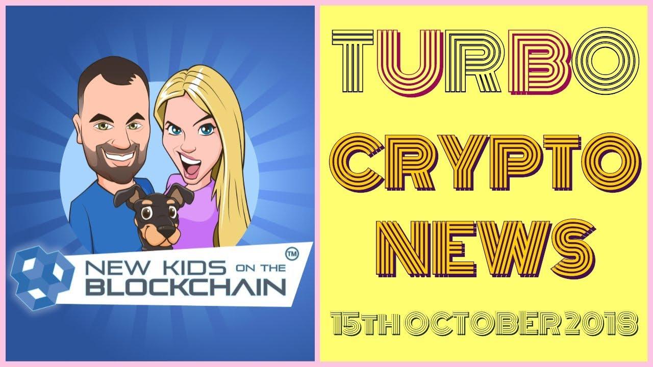 CRYPTO TURBO NEWS 15th Oct BTC, ETH, RIPPLE , EOS, LTC and MORE!