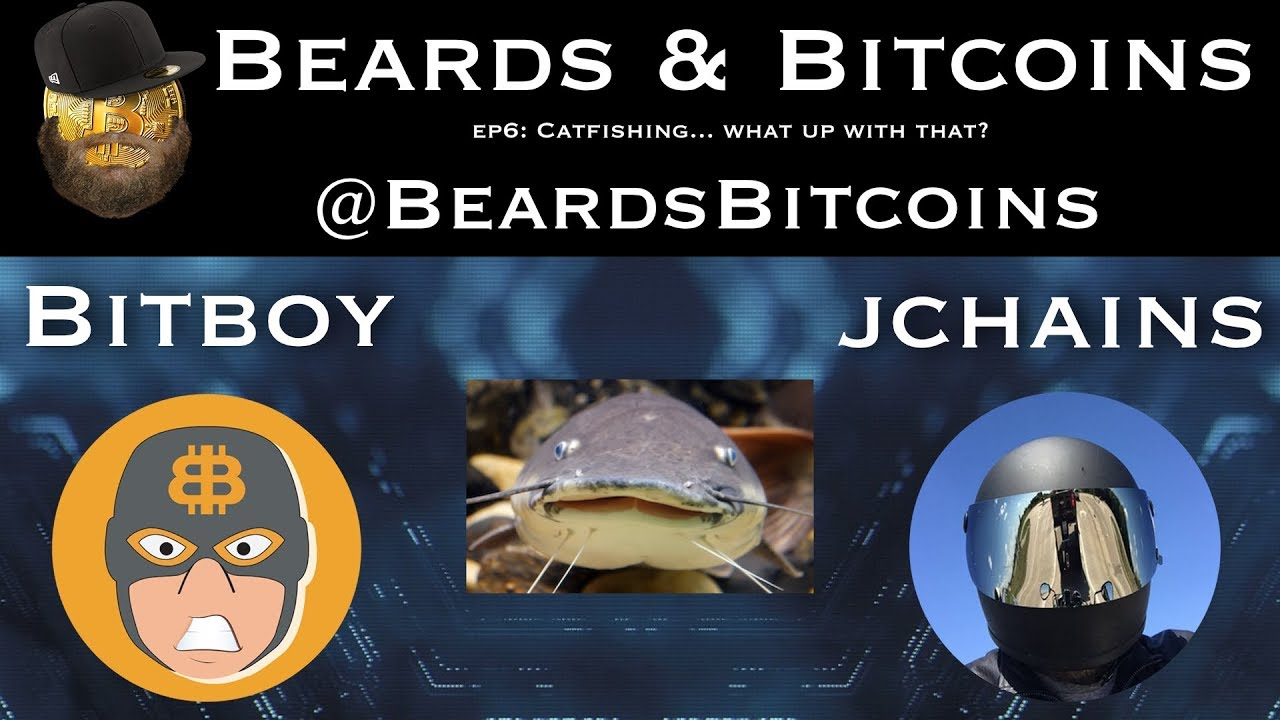 Catfish in Crypto...  What's Up With That?   Beards & Bitcoins Episode 6