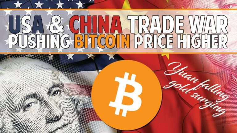 China & USA Trade War Pushing Bitcoin Higher – Are Alts Dead?