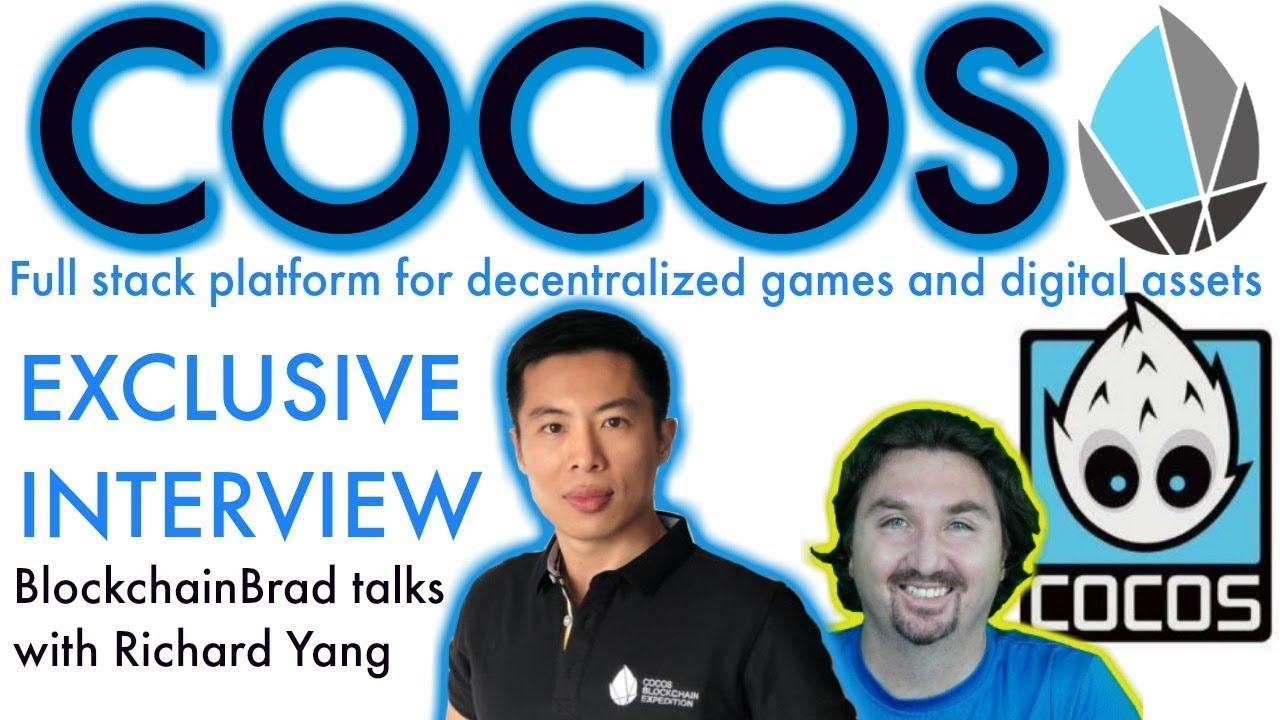 Cocos-BCX Exclusive Interview   Blockchain Gaming Full Stack Platform   BlockchainBrad