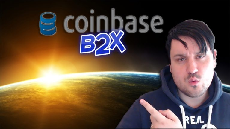 Coinbase Announces Fork B2X Support, YouTube Analytics
