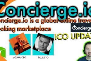 Concierge.io' s CEO & CTO provide ICO & general Updates as they chat with BCB