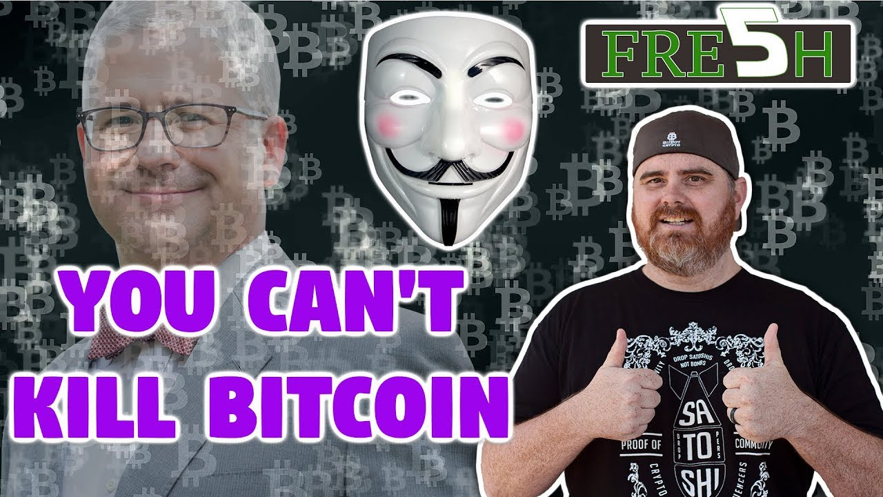 """Congressman Says 'YOU CAN'T KILL BITCOIN"""" 