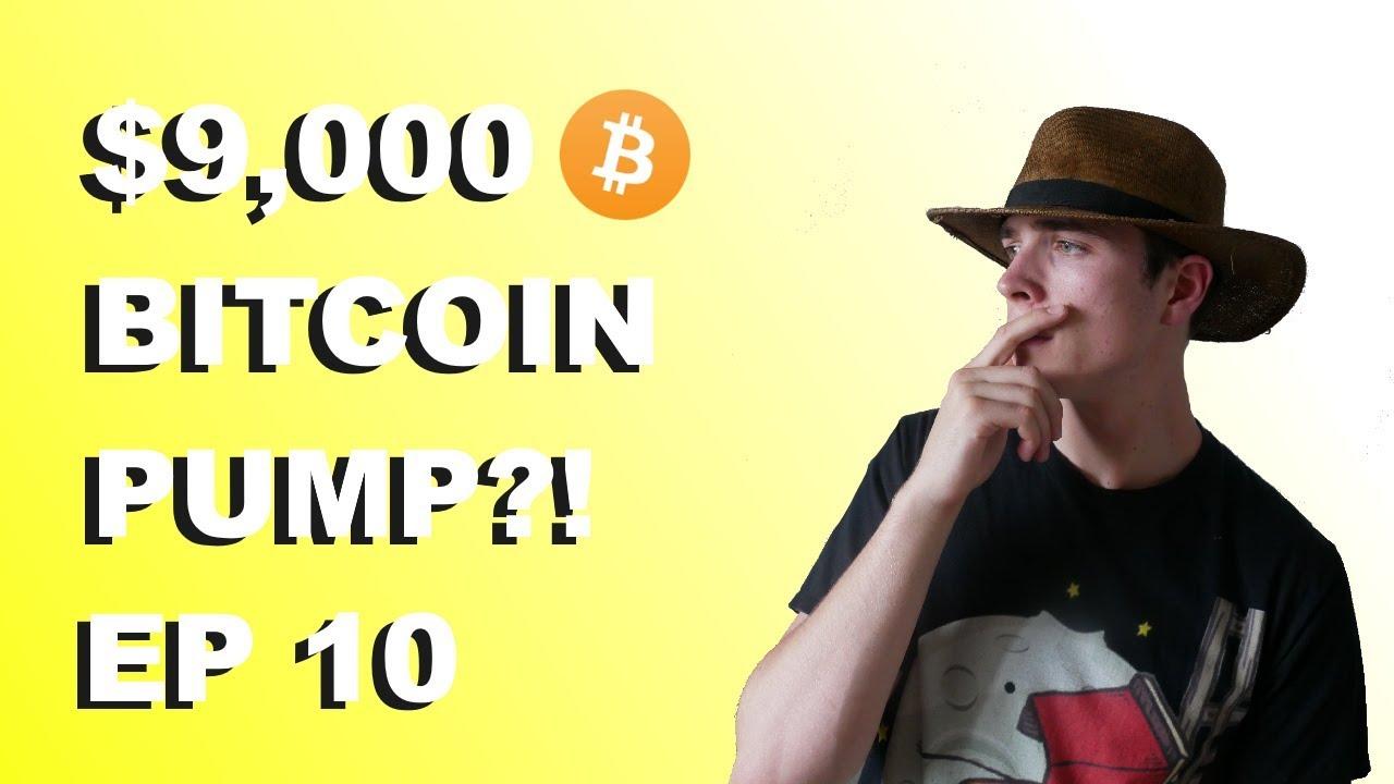 """Craving Crypto EP 10 """"BITCOIN PUMP TO $9,000?!"""""""