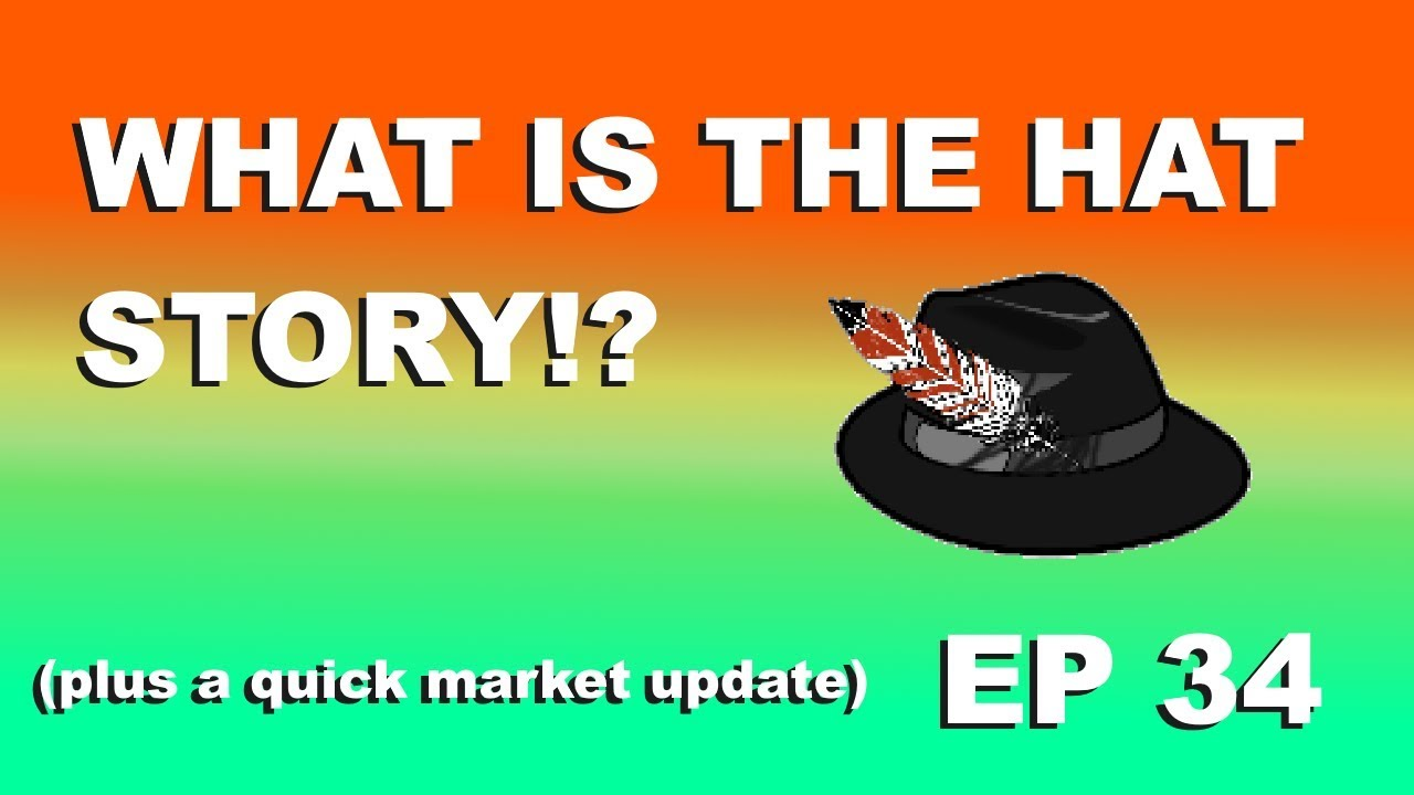 """Craving Crypto EP 34 """"WHAT IS THE HAT STORY? (PLUS A MARKET UPDATE)"""""""