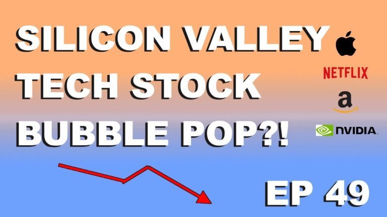 "Craving Crypto EP 49 ""Silicon valley tech stock bubble pop?!"""