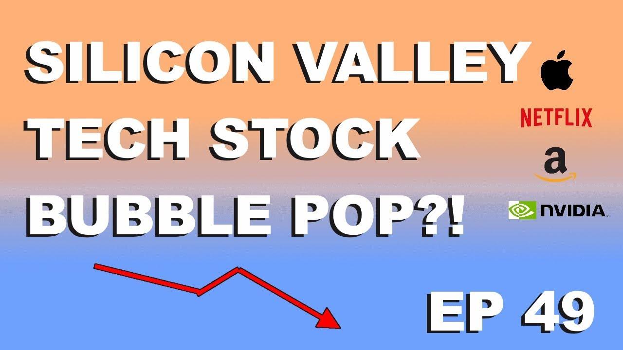 """Craving Crypto EP 49 """"Silicon valley tech stock bubble pop?!"""""""