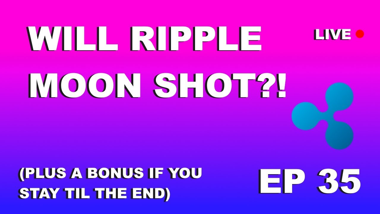 """Craving Crypto Podcast EP 35 """"Will Ripple Moon Shot?"""" LIVE"""