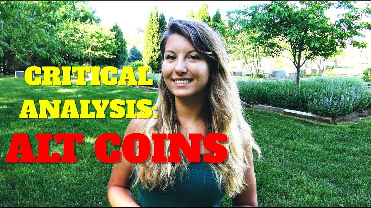 Critical Analysis:  AltCoins