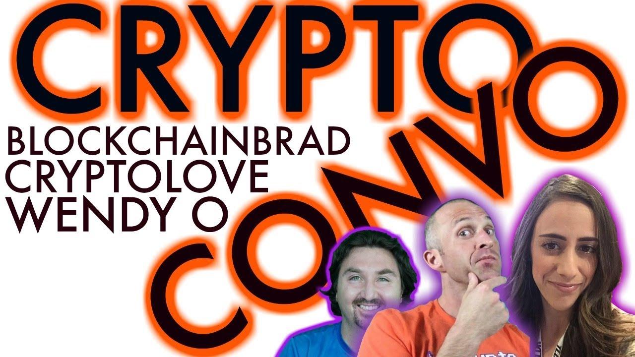 Crypto Chat with Crypto Wendy O, CryptoLove &  BlockchainBrad | Crypto news | Crypto conversation