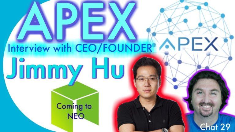 Crypto Neo News – Crypto Interview with APEX CEO JIMMY HU – By BlockchainBrad – NEO