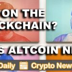 Crypto News: Art on the Blockchain & Altcons $VEN $PRL $IOTA $REQ $DENT $ETH