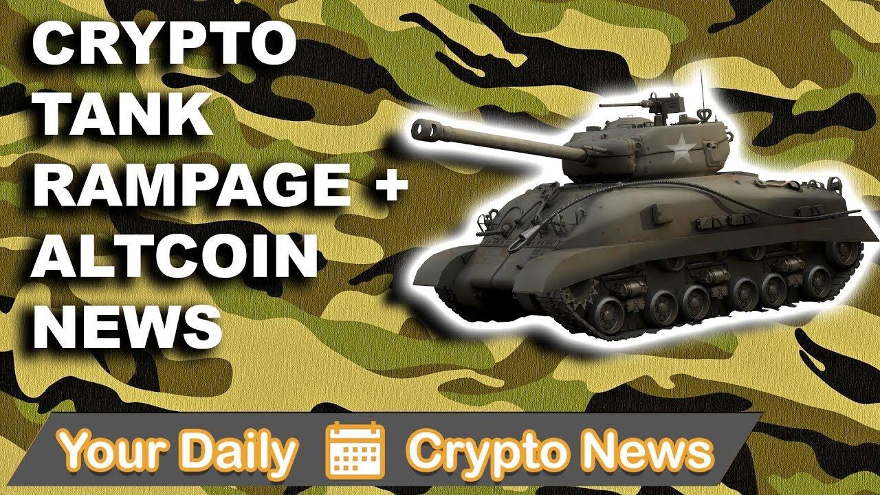 Crypto News: Tank Rampage & Altcoin News $AMB $WTC $VEN $KIN $NAS $KMD