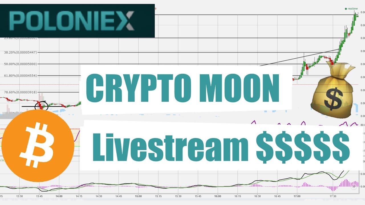 Crypto moon??? live Stream HAI 4/25/2017