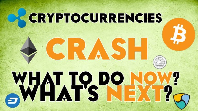 Cryptocurrencies CRASH – What's next? What to do now? Forecasts