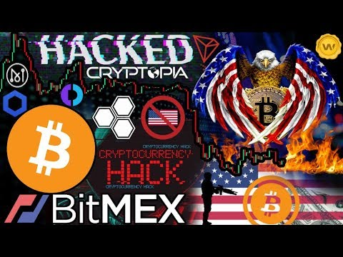 Cryptopia HACKED!!! BitMEX BANS Quebec! USA: Regulators Obstructing Innovation?!? Bakkt Delay