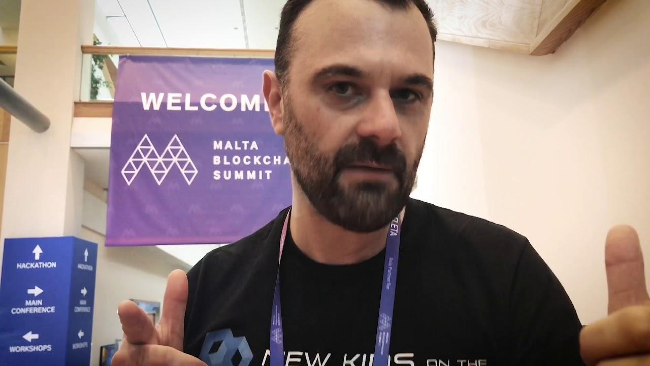 Daily Update Malta Blockchain Summit