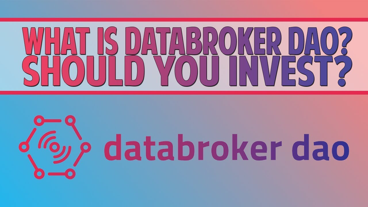 Databroker DAO (DTX) - The IoT data marketplace! Should you invest?
