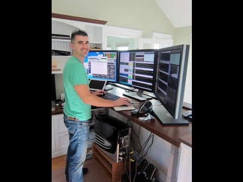 Day Trading Lesson - Standing while trading !!