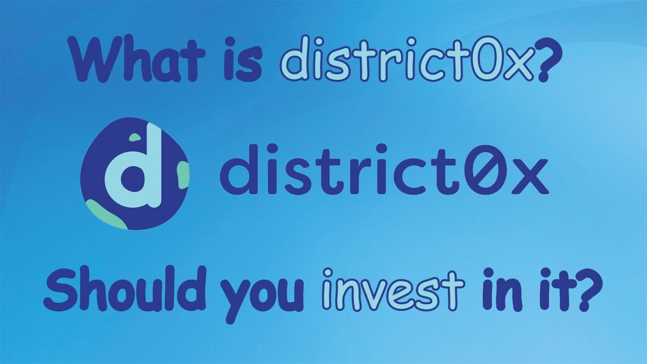 District0x (DNT) - What is it? Should you invest in it?
